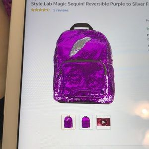 Magic Sequin Backpack! BRAND NEW!!